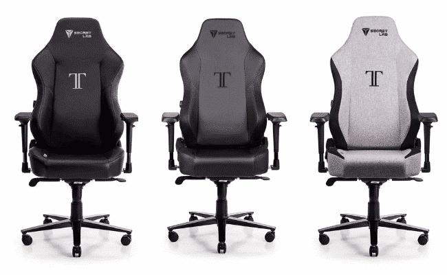 SecretLab Titan 2020 versions